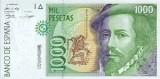1000 Spanish Pesetas Banknote