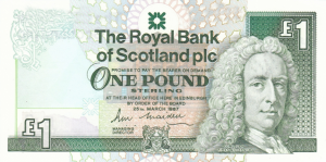 £1 GBP Banknote