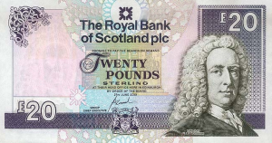 £20 GBP Banknote