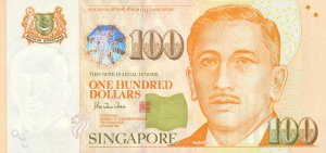 100 S$ Dollar SNG Banknote