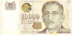 25 S$ Dollar SNG Banknote