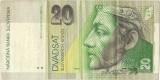 Slovak 20 Koruna Banknote