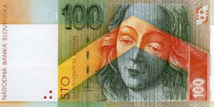 100 SKK Banknote