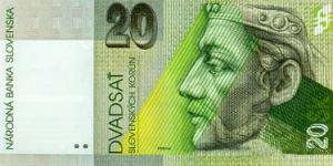 20 SKK Banknote
