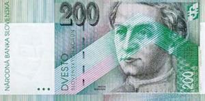 200 SKK Banknote