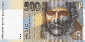 500 SKK Banknote