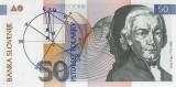 Slovenian 50 Tolars Banknote