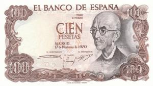 100 ESP Banknote