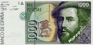 1000 ESP Banknote