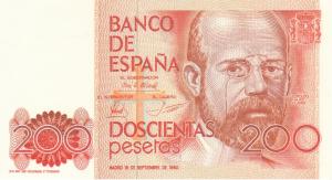 200 ESP Banknote
