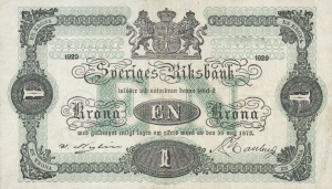 1 SEK Banknote