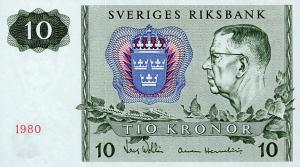 10 SEK Banknote