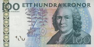 100 SEK Banknote