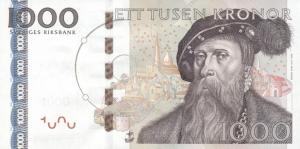 1000 SEK Banknote