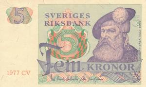 5 SEK Banknote