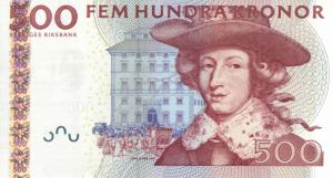 500 SEK Banknote