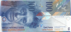 100 CHF Banknote