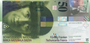 50 CHF Banknote