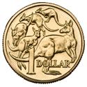 Australian $1 Dollar Coin
